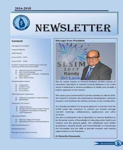 Newsletter 2016-2018